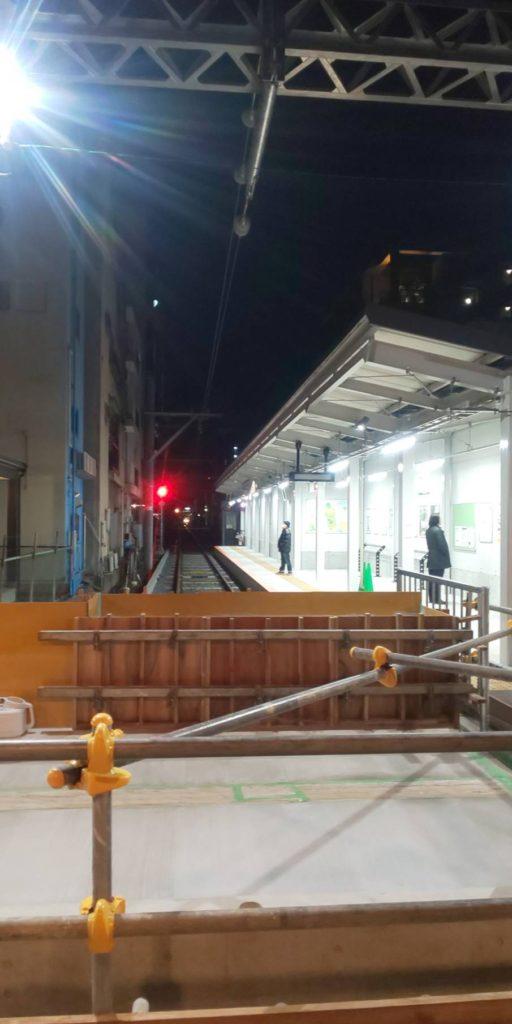 阪堺電車(路面電車)の恵美須町駅が新駅舎に移設されていました!!