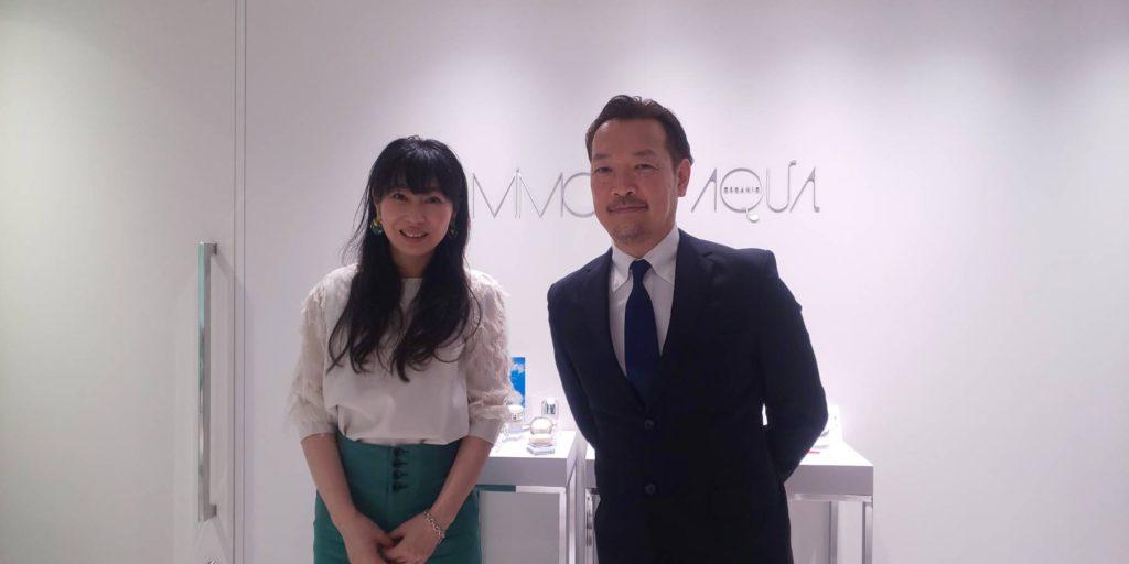 株式会社 MiMC 代表取締役 北島寿さん 医療法人福涛会 理事長 平澤裕之