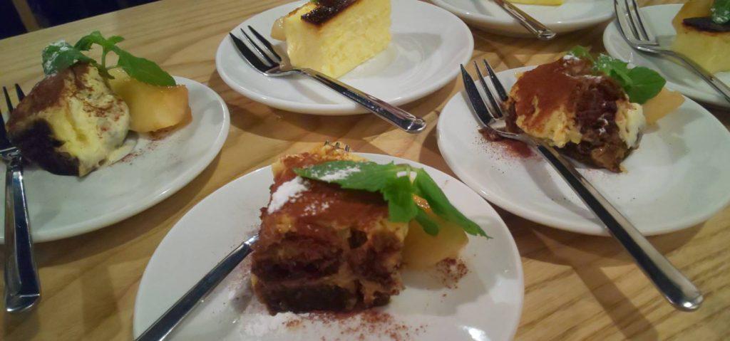 住之江区安立 「restaurant KOBO」さん https://restaurantkobo.owst.jp/ 「デザート チーズケーキとティラミス」