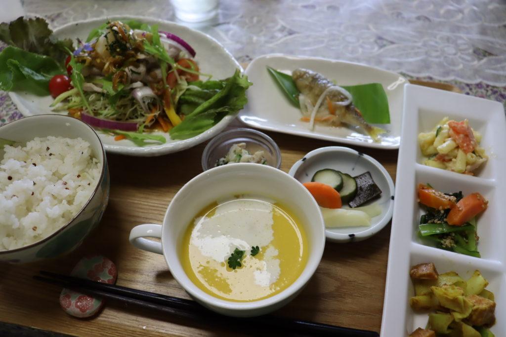 フラワーガーデンARAKI 古民家カフェ ランチ