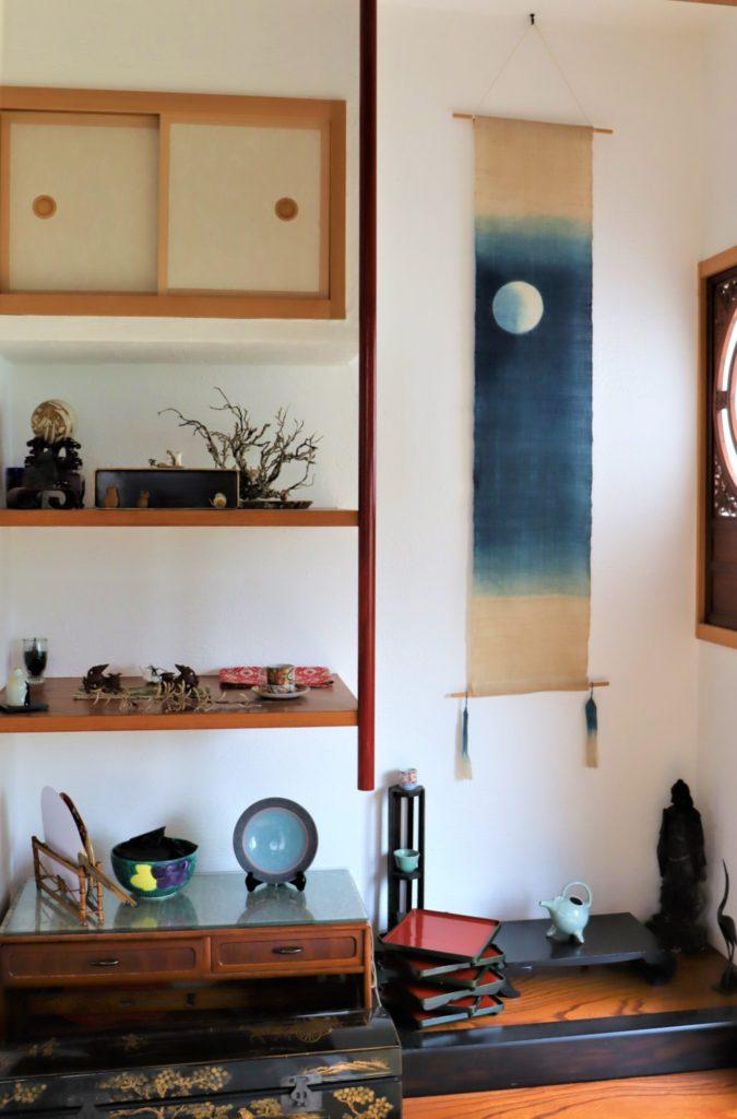 堺旧港の北波止町にある 隠れ家カフェ「 風ととき」和室