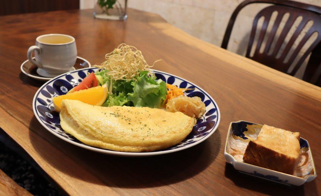 堺旧港の北波止町にある 隠れ家カフェ「 風ととき」ランチ