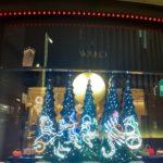 銀座4丁目 和光時計台 クリスマスツリーイルミネーション2020