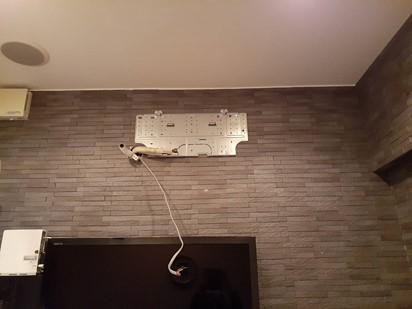 医療法人福涛会 平澤歯科医院 特別室の洗浄中のエアコン