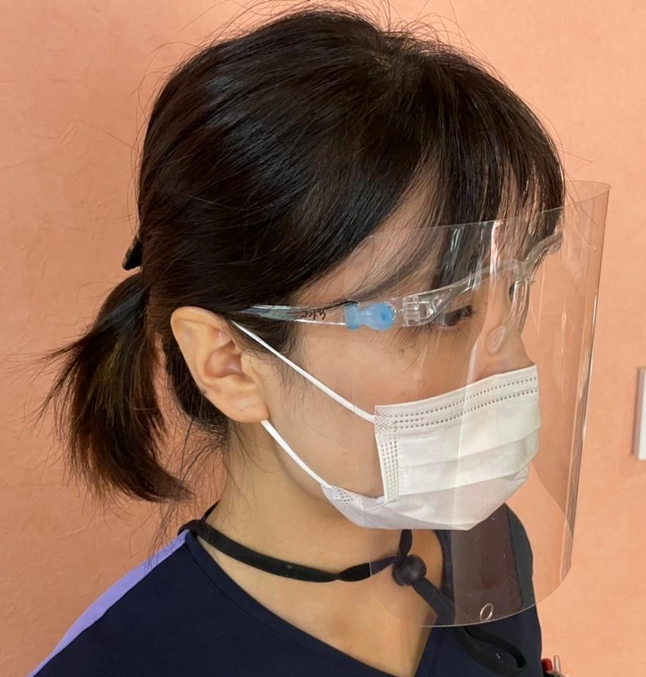 医療法人福涛会 平澤歯科医院 歯科衛生士の感染予防対策。